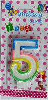 Number Candle - 8