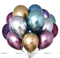 Chrome Balloons Assorted (Pack of 10)
