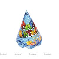 Generic Happy Birthday Party hats (Set of 10)