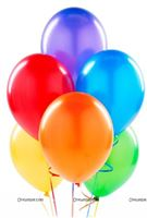 Multi Colour Latex Balloons(pack of 20)