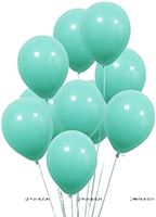 Pastel Teal Green Balloons (Pack of 20)