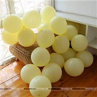 Pastel Yellow Balloons (Pack of 20)