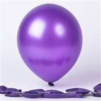 Purple Metallic Balloon (Pack of 20)