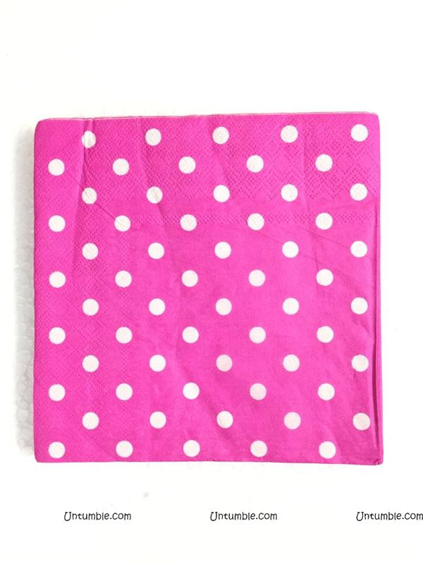 Tissue Paper - Pink Polka (Pack of 20)