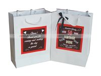 50th Birthday theme Stickered gift bags