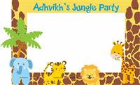 Jungle Animals Photo Booth