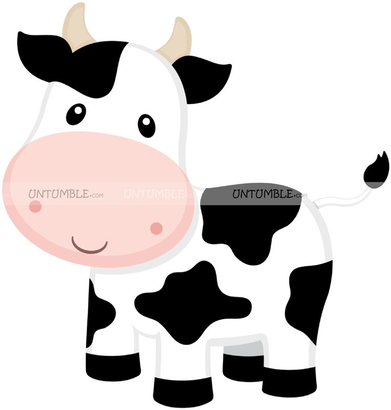 Smiling Cow Cutout