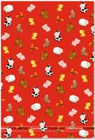 Farm animal theme gift wrappers