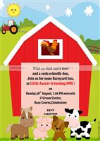Farm Animals Invite