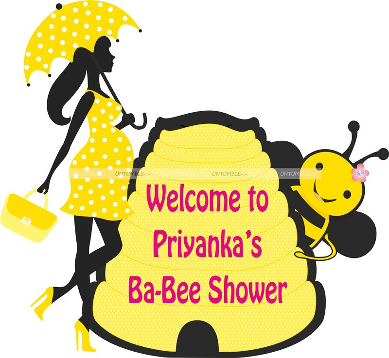 Bee theme Baby Shower