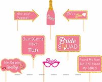 Bridal Shower Photo Prop Set