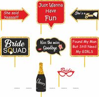 Photo Booth Props - Bachelorette Party / Bridal Shower