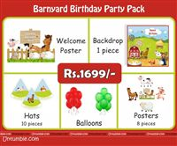 Barnyard Theme Mini Party Pack