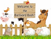 Barnyard entrance fence