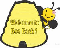 Bumble Bee birthday theme Posters / Cutouts