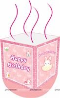 Pinata - Bunny Theme Birthday Party Supplies