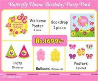 Butterfly Theme Mini Party Pack