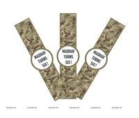 Camouflage Theme Wristbands