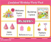 Candyland Theme Mini Party Pack