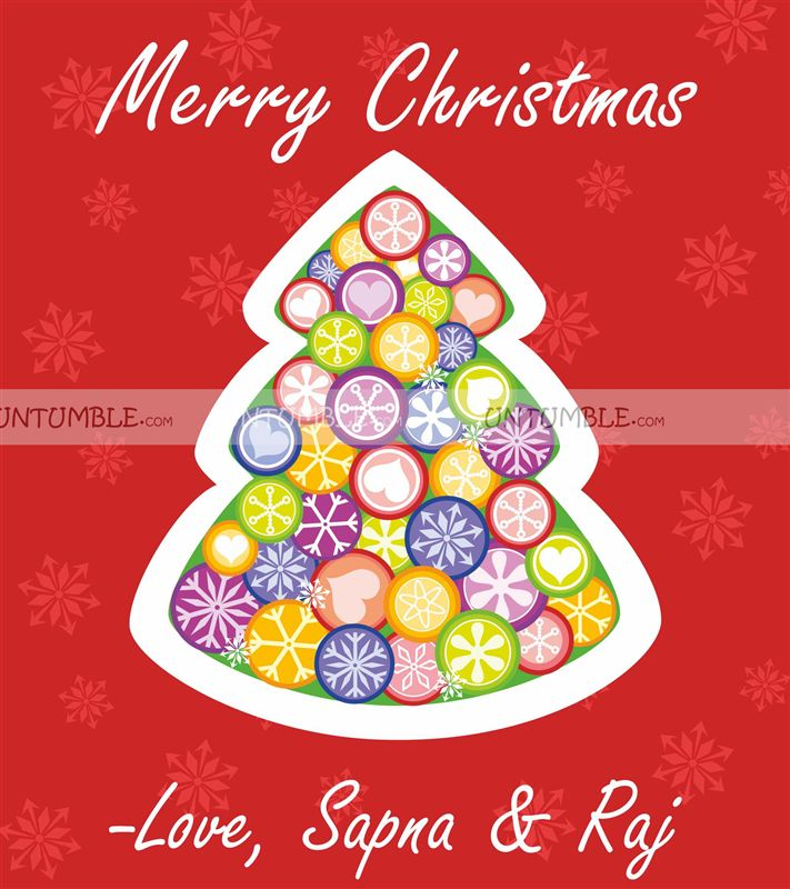 Christmas favour tags