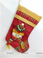 1.5ft Christmas Snowman stocking