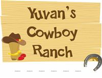 Cowboy Ranch Sign Board