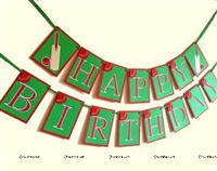 Cricket Birthday Bunting
