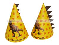 Spike shaped hats (Set of 6)