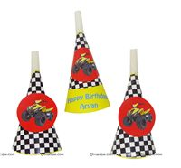 Dirt Bike Birthday theme Blowers
