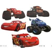 Disney Car Poster pack of 5