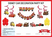 Disney Cars Birthday Party Pack