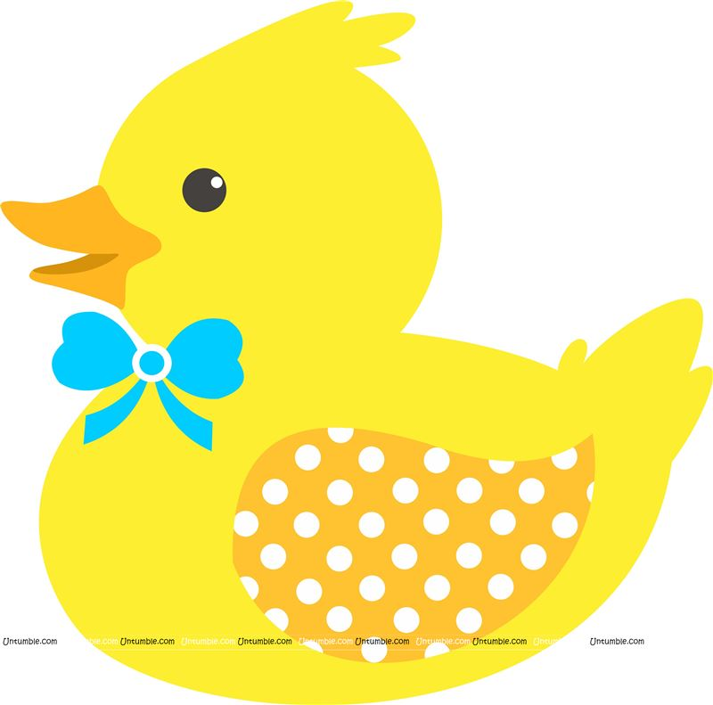 Smiling Yellow Rubber Duck poster
