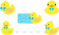 Duck posters (Pack of 5 )