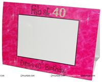 Photo Frame - Fab at 40 ! | 40th Birthday Party Supplies