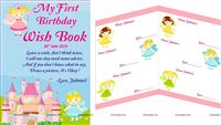 Fairy Birthday Wish Book