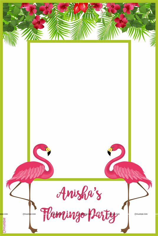 Flamingo Party Photo Booth