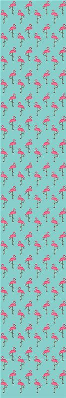 Flamingo Table runner blue