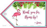 Flamingo Thank you Cards