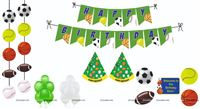 Ball theme Super saver birthday decoration kit (Pack of 58 pieces)