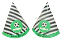 Football Party Hats (Set of 6)