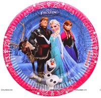 Frozen Birthday Party Plate 9""
