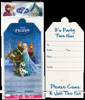 Frozen Birthday Invitations (set of 10 )