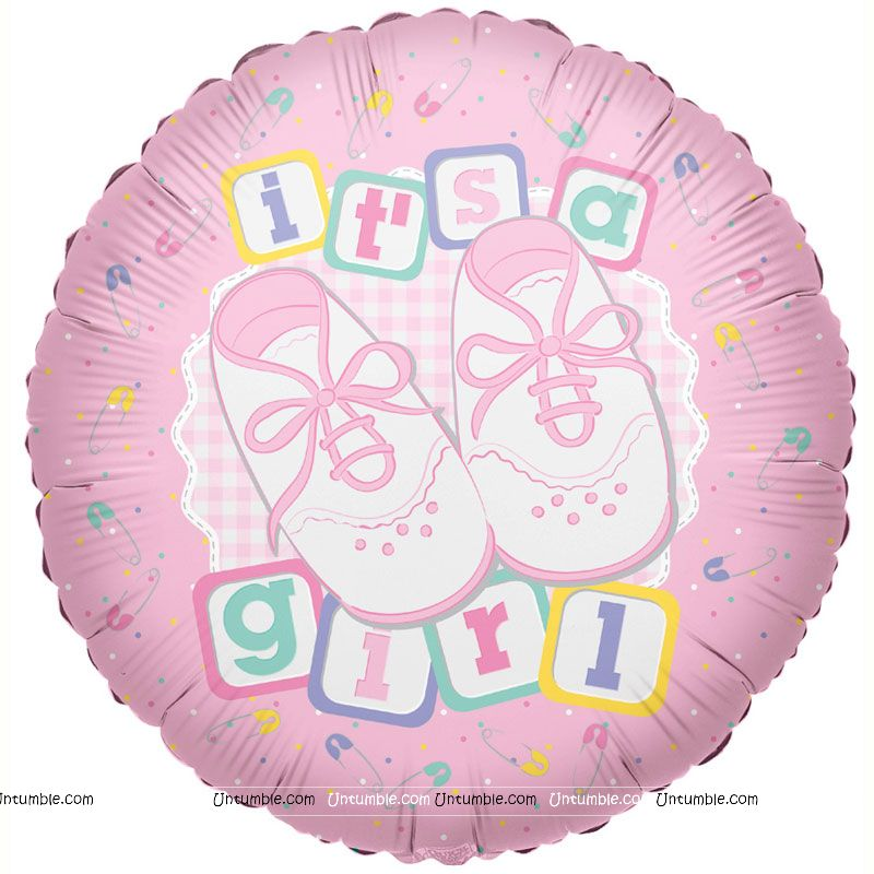 Its a Girl Foil Balloon
