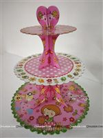Flowers Cup Cake Stand