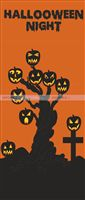 Halloween Decor theme Backdrop