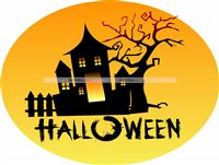 Haunted House Cutout
