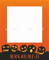 Small Trick or Treat Photo Booth