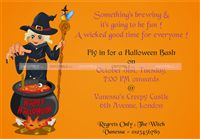 Witch based invitation