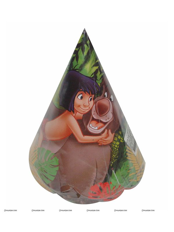 JUNGLE BOOK PAPER CAP (Set of 10)