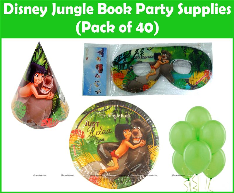 Jungle Book Mowgli Party Kit (Pack of 40)
